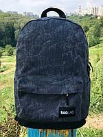 Женский рюкзак Baglab серый котон F, фото 7