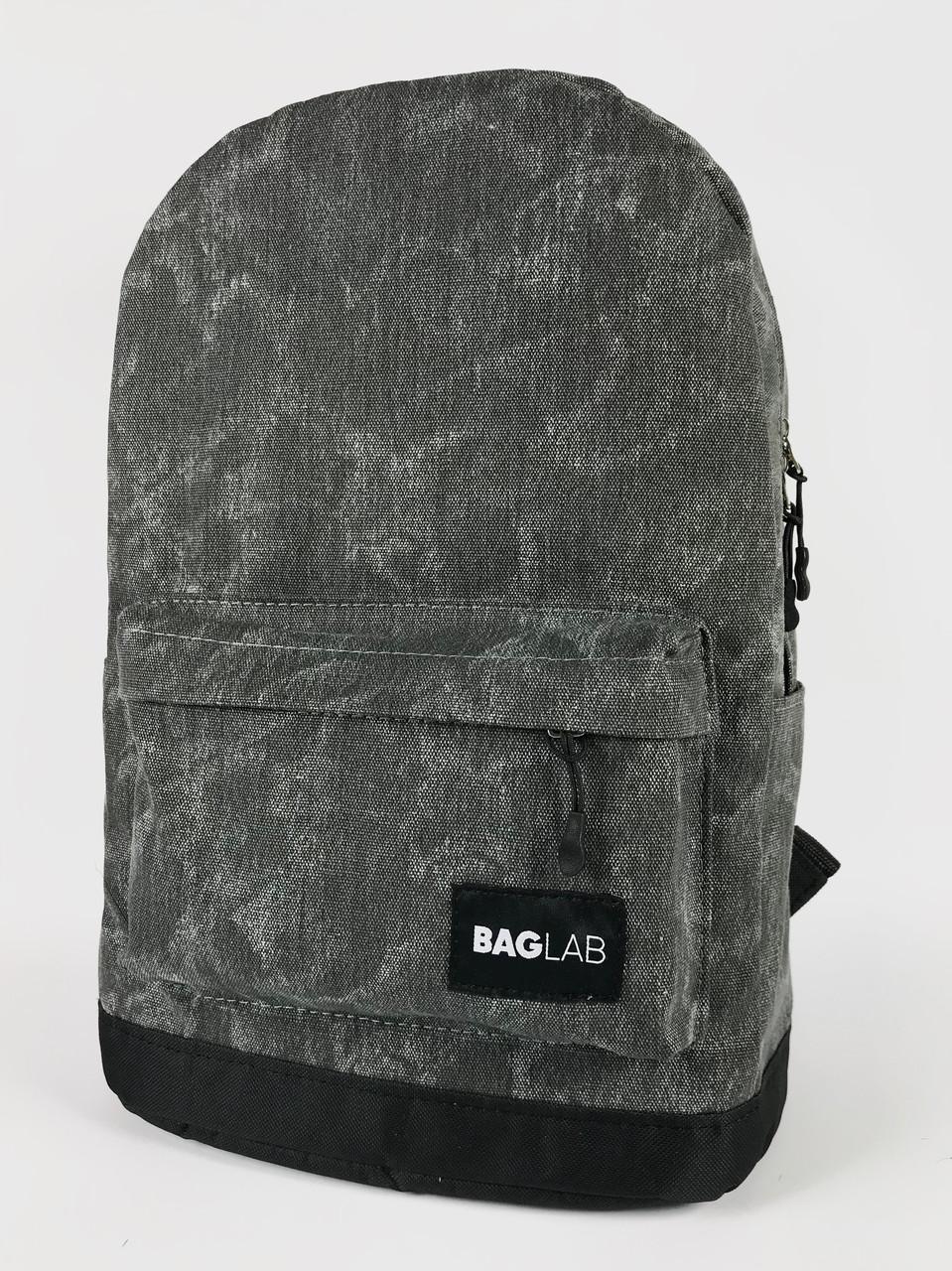 Женский рюкзак Baglab серый котон F