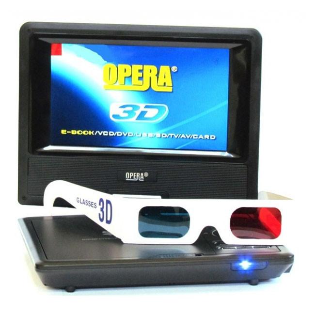 Портативный DVD Opera OP-776 3D