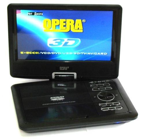 Портативный DVD Opera OP 996 3D