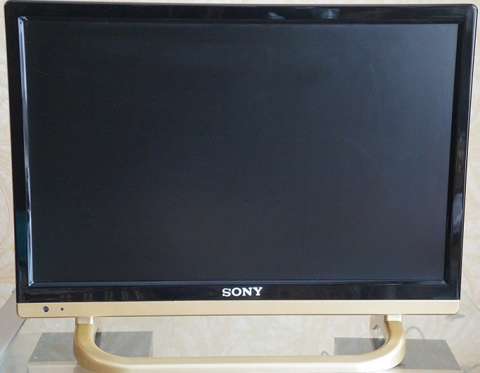 "Телевизор Sony TV Full HD 22"" дюйма USB + SD + HDMI (12v и 220v)"