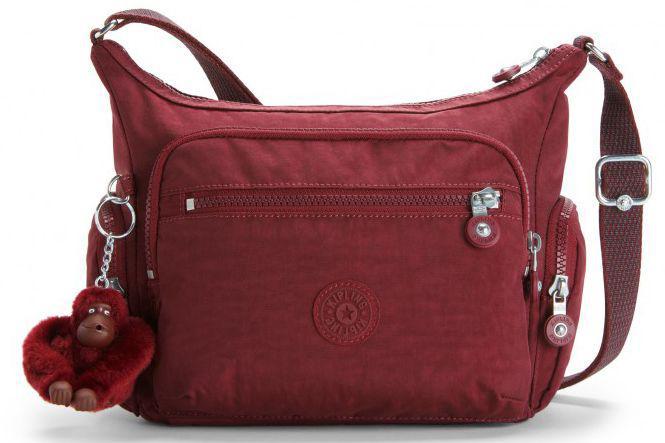 8874de87e26b Женская сумка Kipling GABBIE KI2531_47F, бордовый — только ...