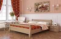 """Двуспальная кровать """"Диана"""" из бука (щит, массив)"""