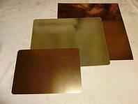 Подложка  под торт прямоугольная золото\серебро40*50см Украина - 00321