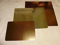 Подложка  под торт прямоугольная золото\серебро40*50см(код 00321)
