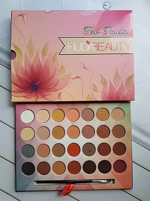 Тени для век Huda Beauty Pro-Palette 28 цветов