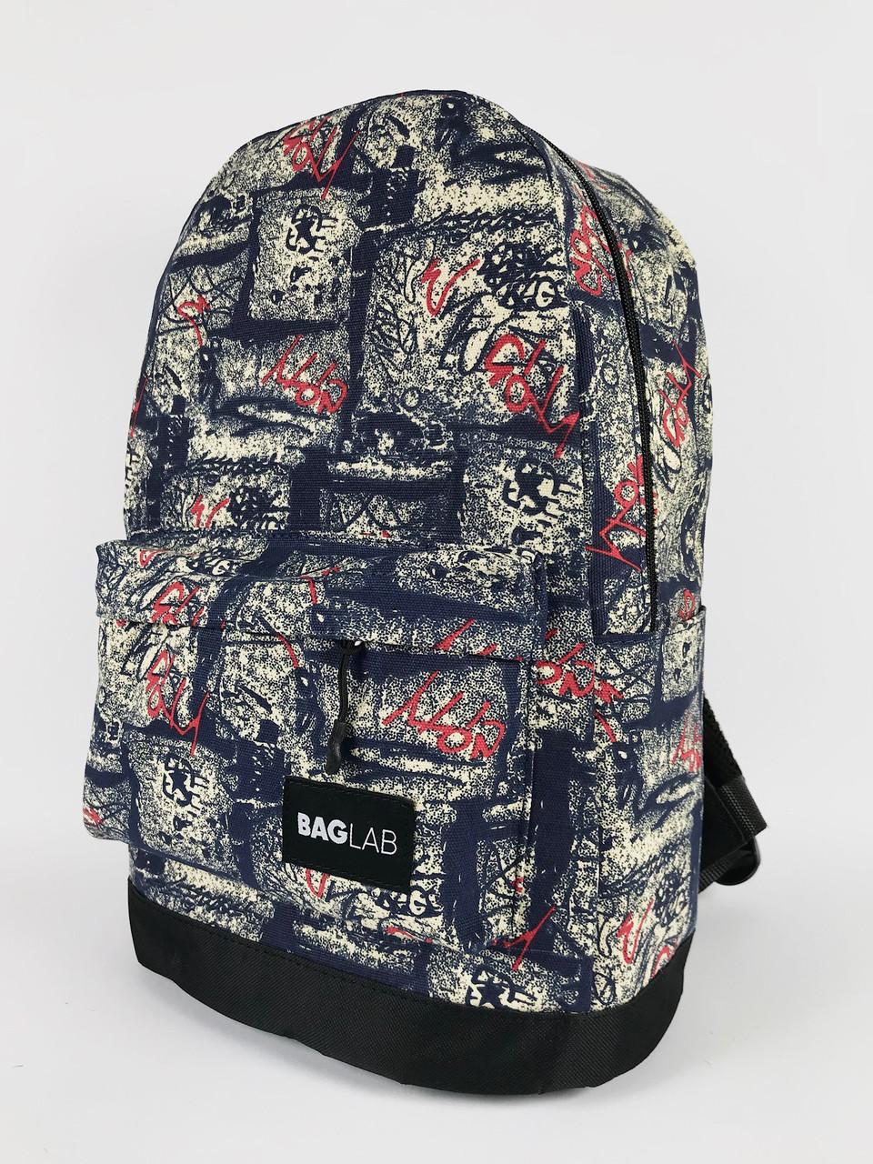 Молодежный рюкзак Baglab графити котон F