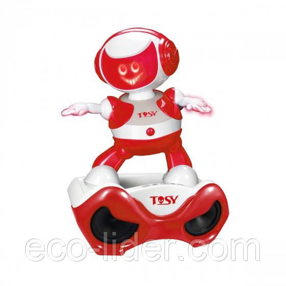 Набір з інтерактивним роботом DISCOROBO – АЛЕКС ДІДЖЕЙ (робот, MP3-плеєр з колонками, танцює,озв.)