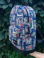 Молодежный рюкзак Baglab графити котон F, фото 6