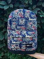 Молодежный рюкзак Baglab графити котон F, фото 5