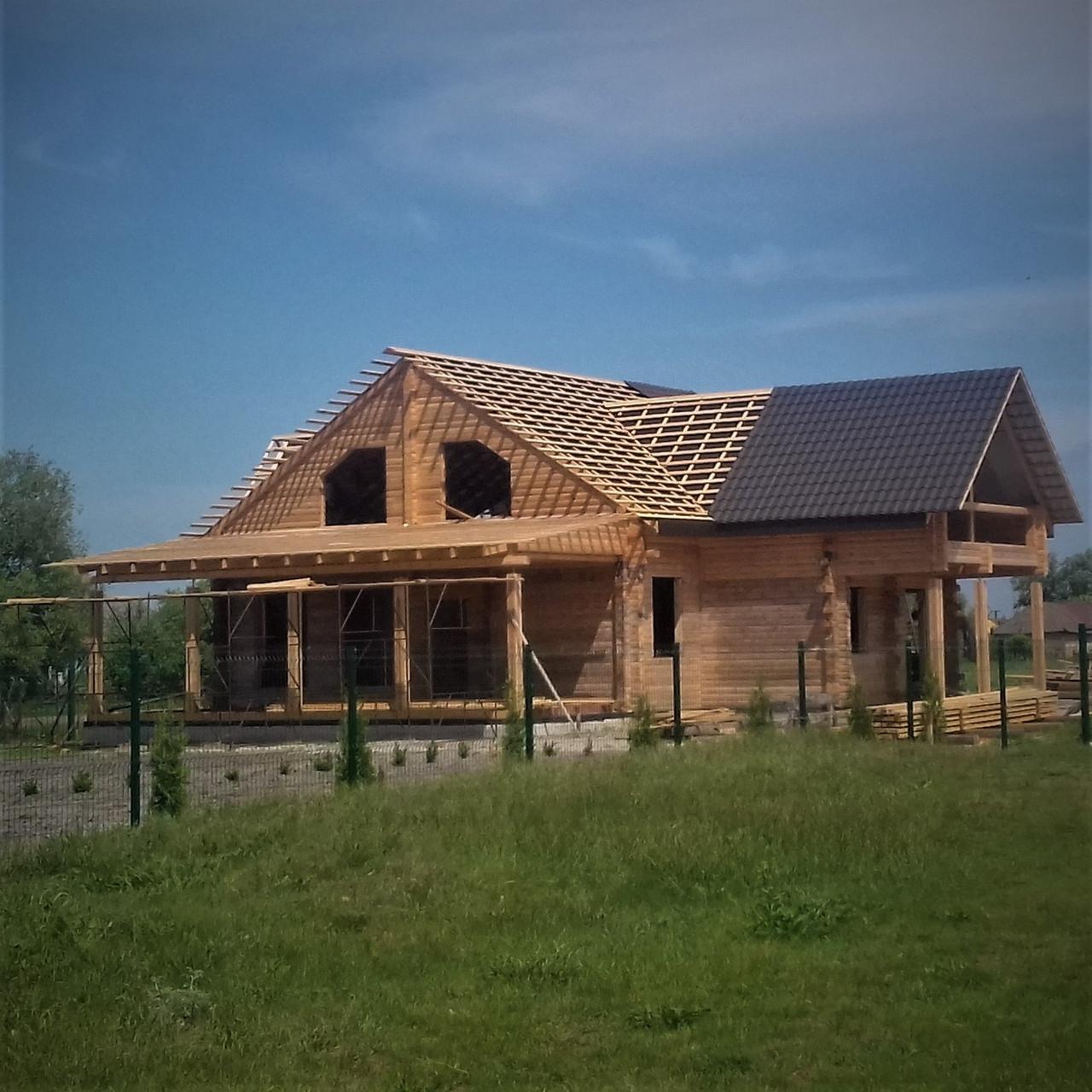 Строительство дома (2 этажа)