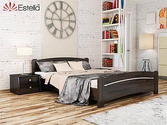 """Двуспальная кровать """"Венеция"""" из бука (щит, массив)"""