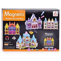 Детский магнитный конструктор Magnetic Games and learning AQ-908 Замок 60 деталей