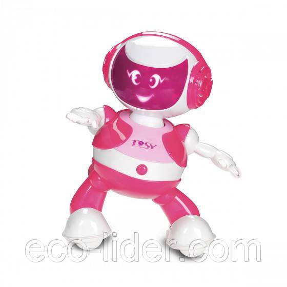 Інтерактивний робот DISCOROBO – РУБІ (танцює, озвуч. укр. яз., рожевий)