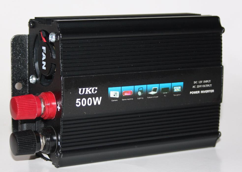 Инвертор  Преобразователь UKC 12-220v   500w
