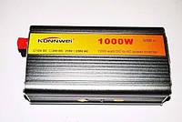 Преобразователь напряжения (инвертор) KONNWEI 12v-220v 1000W/2500W, фото 1