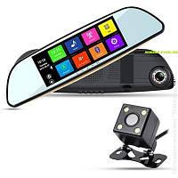 Видеорегистратор/ GPS навигатор(Монитор 7 дюймов-Android)  Eplutus D68 , фото 1
