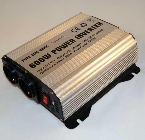 Преобразователи напряжения GYS PSW 8600 (1200Вт) Инвертор 12- 220  чистый синус