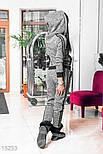 Спортивный теплый костюм на флисе, фото 3