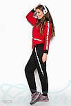 Красно-черный спортивный костюм, фото 2