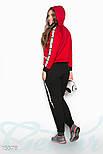 Красно-черный спортивный костюм, фото 3