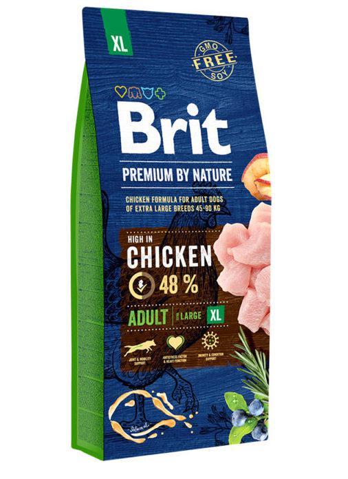 Brit (Брит) Premium Adult XL корм для взрослых собак гигантских пород, 15 кг