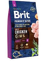 Brit (Брит) Premium Adult S корм для взрослых собак маленьких пород, 3 кг