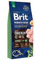 Brit (Брит) Premium Junior XL корм для цуценят і молодих собак гігантських порід, 15 кг