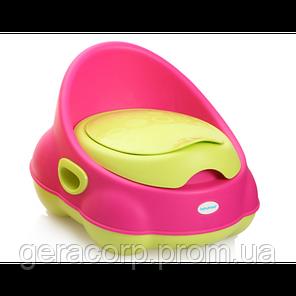 Горшок детский Babyhood BH-112 Розово-зеленный, фото 2