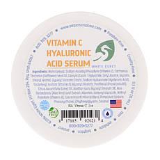 White Egret Personal Care, Вітамін С з гіалуронової кислотою, 0,5 унц. прим. 14 г