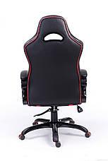 Сливаем выставочный образец! Кресло Barsky SD-02 чёрное с красным, фото 2