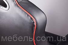Сливаем выставочный образец! Кресло Barsky SD-02 чёрное с красным, фото 3