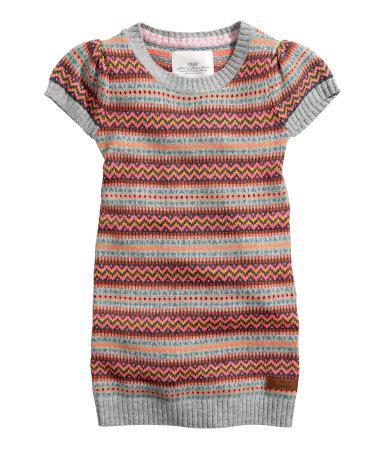 Плаття в'язане з ангоркой (Розмір 4-6 Т) H&M (США)