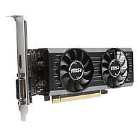Видеокарта Radeon RX 550 OC, MSI, 4Gb DDR5, 128-bit, DVI/HDMI, 1203/6000MHz, Low Profile (RX 550 4GT