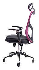 Детское компьютерное кресло Barsky Butterfly Black Fly-02 bordo, фото 3