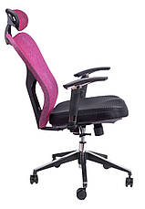 Детское компьютерное кресло Barsky Butterfly Black Fly-02 bordo, фото 2