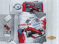 Комплект постельного белья подростковый Гоночная машина Хлопок 100%