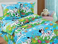 Комплект постельного белья подростковый далматинец Хлопок 100%