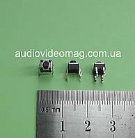 Кнопка тактовая 4.5х4.5х4.3 мм