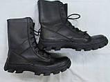 Берцы кожаные на полиуретановой подошве (мод. 107), фото 2