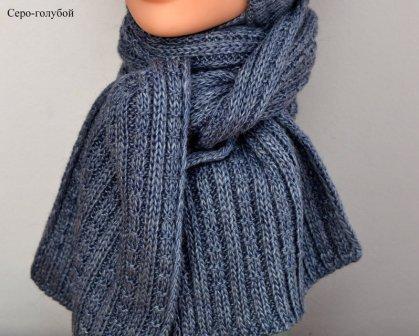Детский шарф зимний