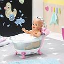 Автоматическая ванночка для куклы BABY BORN - ВЕСЕЛОЕ  КУПАНИЕ (свет, звук), фото 3