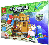 "Конструктор Lele My World 33171 ""Жильё на воде"""