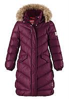 Пальто пуховое Reima SATU 531352-4960. Размеры 104-164.