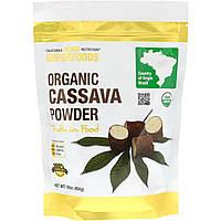 California Gold Nutrition, Суперпродукт, Органический порошок маниоки, 16 унц. (454 г)