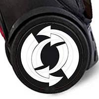 Наклейка на колеса 2шт. Arrows для ROLLER, ROLLER XL, NIKIDOM, фото 1