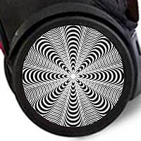 Наклейка на колеса 2шт. Dizzy для ROLLER, ROLLER XL, NIKIDOM, фото 1
