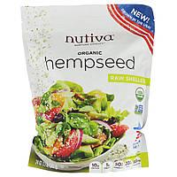 Nutiva, Органическая конопля, сырая, очищенная, 24 унц. (680 г)