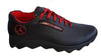 Кроссовки Jordan  мужские кожаные черные 40, 41, 42, 43, 44, 45