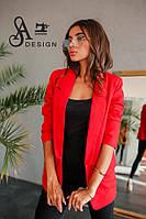 Пиджак женский стильный на подкладке разные цвета Pmil121